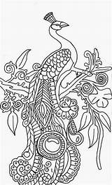Peacock Coloring Pages Printable Peacocks Abstract Drawing Adults Cool Adult Simple Illustration Colouring Mandala Sheets Sheet Step Tree Kidsplaycolor Ready sketch template