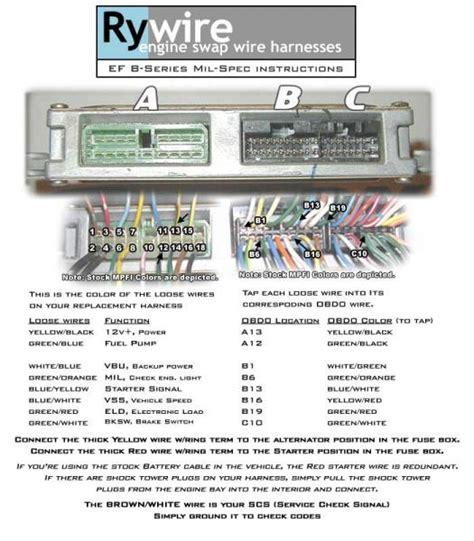 obd0 to obd1 distributor wiring page 2 honda tech