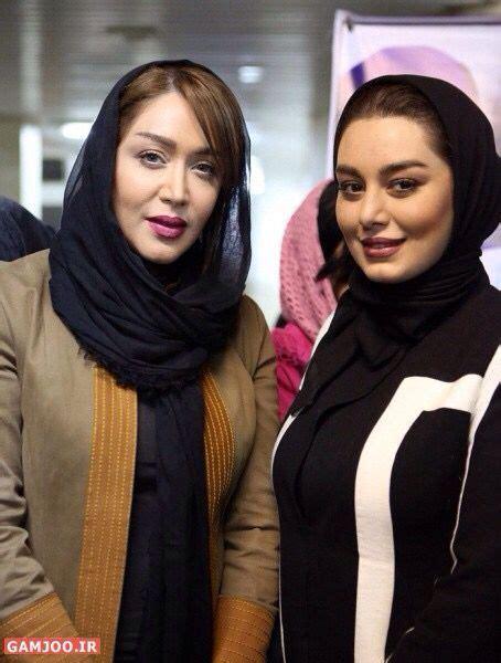 Sahar Ghoreishi And Fariba Naderi Iranian Beauty Persian