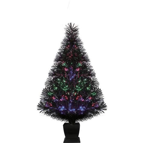 table top christmas trees with lights 14 75 quot icy crystal led lighted christmas tree table top