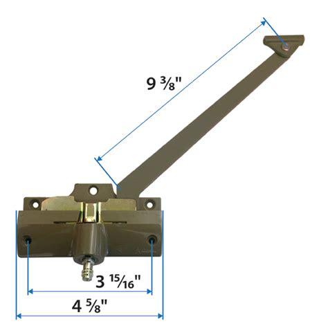 casement straight arm operator andersen windows doors