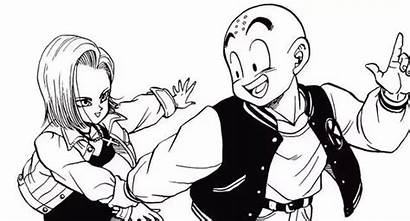Krillin Android Dragon Ball Anime Dbz Drawing