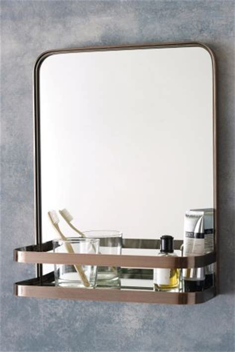 industrial bathroom mirror with shelf bargain accessories for the home chic living