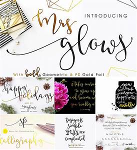 mrs glows calligraphy font with bonus free download With calligraphy wedding invitations software
