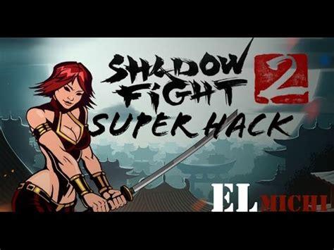 hack para shadow fight 2 monedas y gemas ilimitado