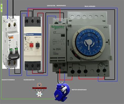 Electrical Diagrams Contactor Watch Hours Esquemas