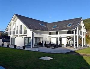 maison d39architecte bois avec charpente apparente nos With maison bois d architecte