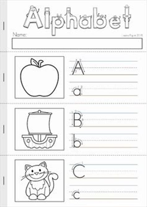 Alphabet & Letter Sounds Review No Prep  Lower Case Letters, Writing Practice And Alphabet Letters
