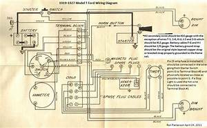 Model T Ford Forum  Headlamp  Ignition Switch Wiring Diagram 1920 Model T