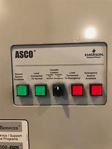 400 Amp Asco Manual Transfer Switch