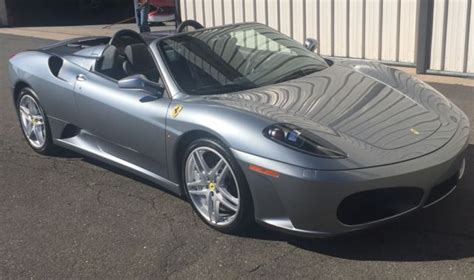 F430 For Sale Ebay by 2007 F430 Spider 1 Owner From New Luxury Vehicle