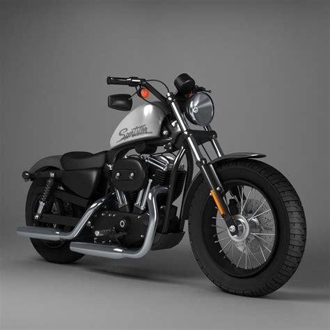 Harley Davidson Sportster Models by 3d Model Harley Davidson Sportster Forty Eight