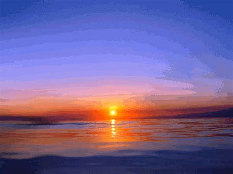 Ocean Sunset Aimbeauty Deviantart