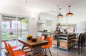 Vintage, Style, Kitchen, Mixes, Retro, Decor, With, Industrial