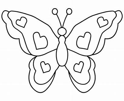 Mariposas Imprimir Colorear Dibujos Butterfly Clip Coloring