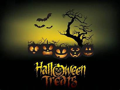 Halloween Poster Backgrounds Background Ppt Treats 3d