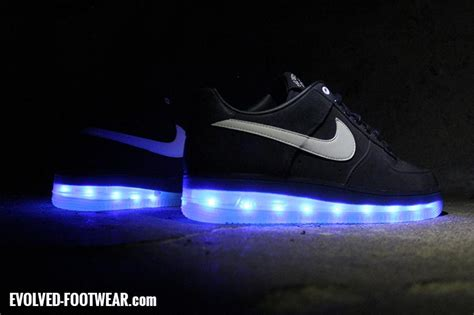 nike led light up shoes nike air 1 that lights up with leds