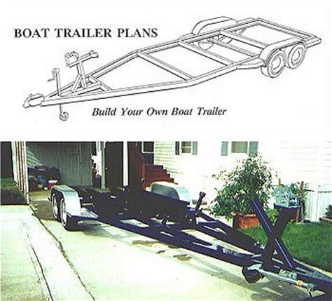 Pontoon Boat Trailer Design by Boat Trailer Plans
