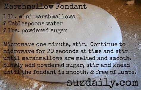 how to make fondant how to make marshmallow fondant suz daily