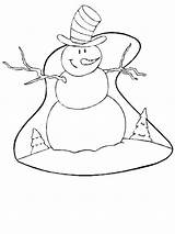 Winter Coloring Season Nature Printable Kb Drawing sketch template