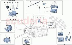 Ferrari 488 Gtb Antitheft System Parts