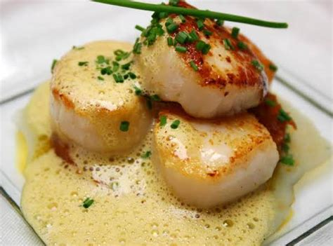 Scallops With Grand Marnier Recipe  Just A Pinch Recipes