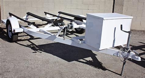 Zieman Boat Trailers by 2012 Used Zieman Double Watercraft Trailer For Sale