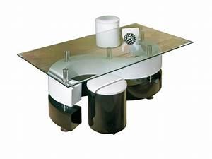 Tisch Mit Hocker : links 50100015 couchtisch glastisch wohnzimmertisch ~ Lateststills.com Haus und Dekorationen