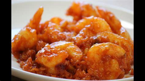 sriracha chili shrimp youtube