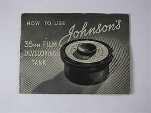 Johnsons 35mmm Film Developing Tank  How To Use