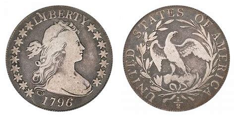 1796 Draped Bust Dollar - 1796 draped bust half dollar 16 small eagle
