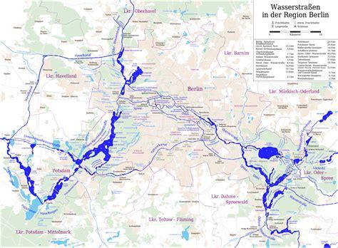 Dateikarte Der Berliner Wasserstraßenpng Wikipedia