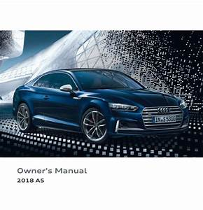 2018 Audi A5 Owner U0026 39 S Manual - Zofti
