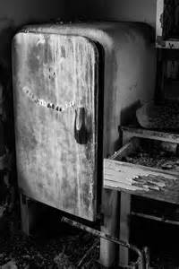 Abandoned Old Refrigerator