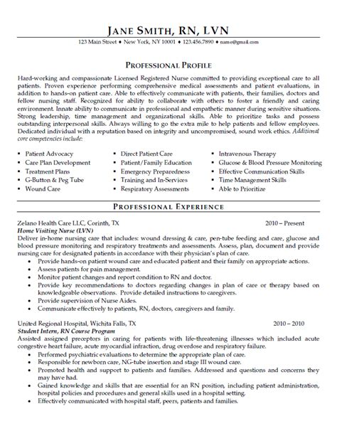 Things That Look On A Nursing Resume by Professional Resume Writers Resume