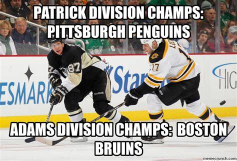 Pittsburgh Penguins Memes - patrick division champs pittsburgh penguins