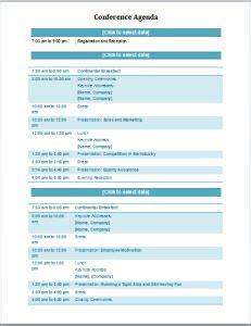 professional agenda templates  ms word document templates
