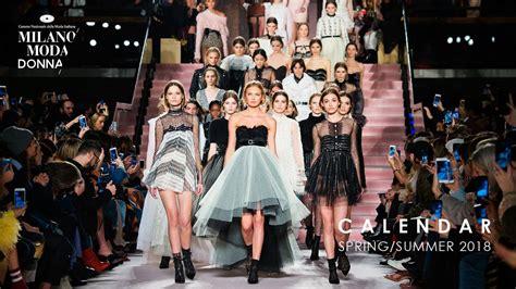 milano moda  donna collezione springsummer