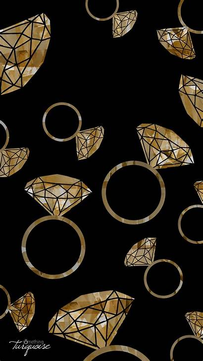 Gold Iphone Diamond Wallpapers Ring Rings Lord