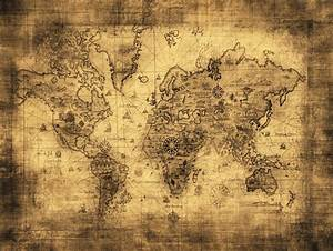 Alte Weltkarte Poster : zeit4bild antike alte weltkarte karte bilder leinwand reproduktion giclee ebay ~ Markanthonyermac.com Haus und Dekorationen