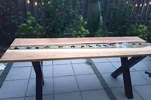 Epoxidharz Tisch Anleitung : tisch mit epoxidharz gie harz herstellen veredeln anleitung ~ One.caynefoto.club Haus und Dekorationen