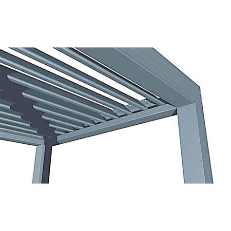 pergola aluminium grand format 224 lames orientables profils syst 232 mes