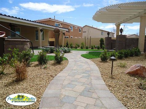 landscapes proficient patios backyard designs