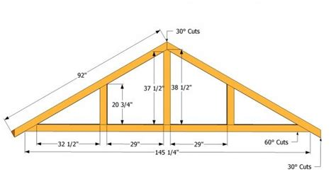 large shed roof plans myoutdoorplans free woodworking plans and projects diy shed wooden