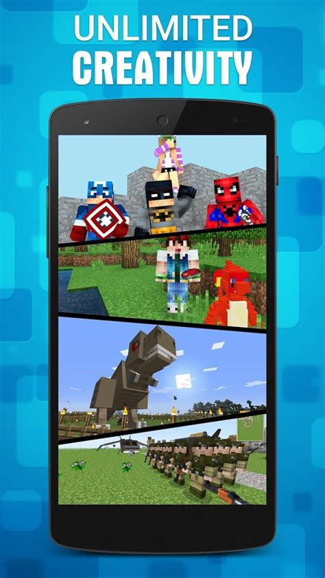 mods for minecraft pe android mods addons for minecraft pe android apps on play