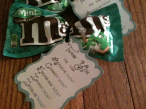 teacher appreciation week mint poem candy crafty