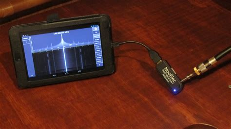 dongle android sdr rtl radio nexus tablet software defined bits touch repeater