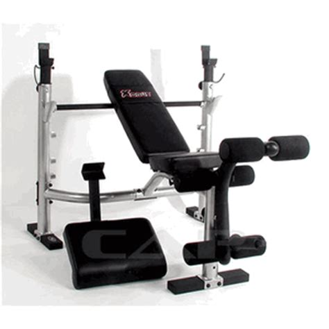 Xodus Weight Bench by Cap Xodus Olympic Weight Bench