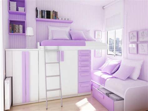 Purple Bedroom For Teenage Girls