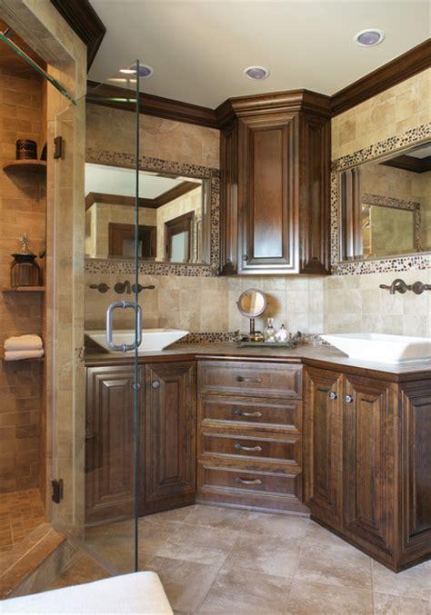 corner vanity vessel sinks eclectic bathroom newark